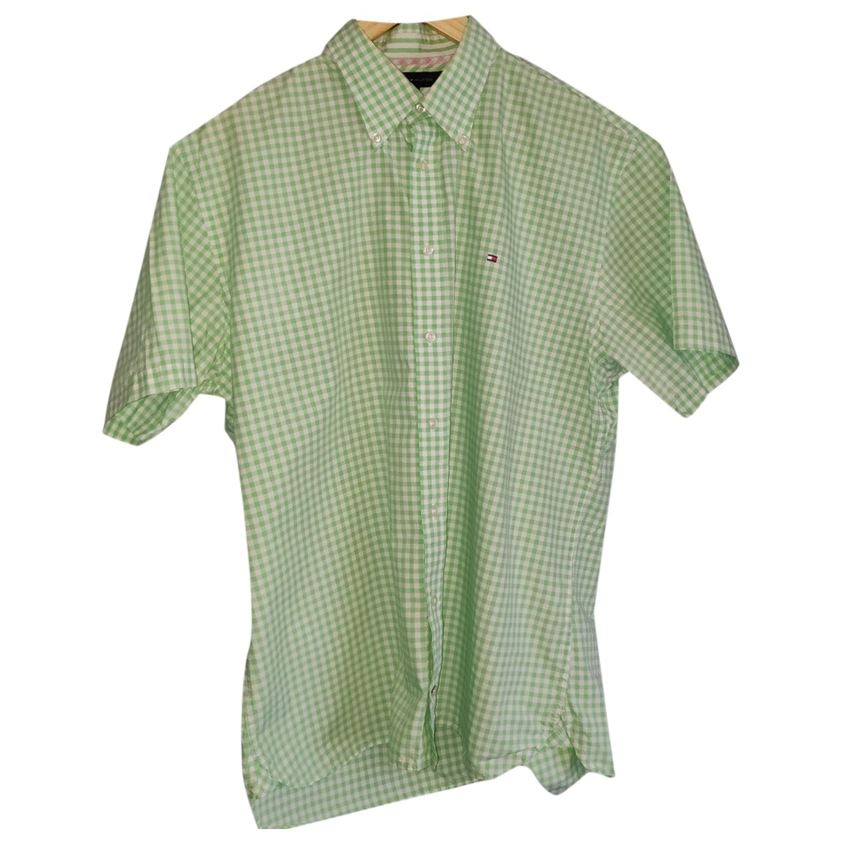 Tommy Hilfiger \N Green Cotton Shirts for Men XL International