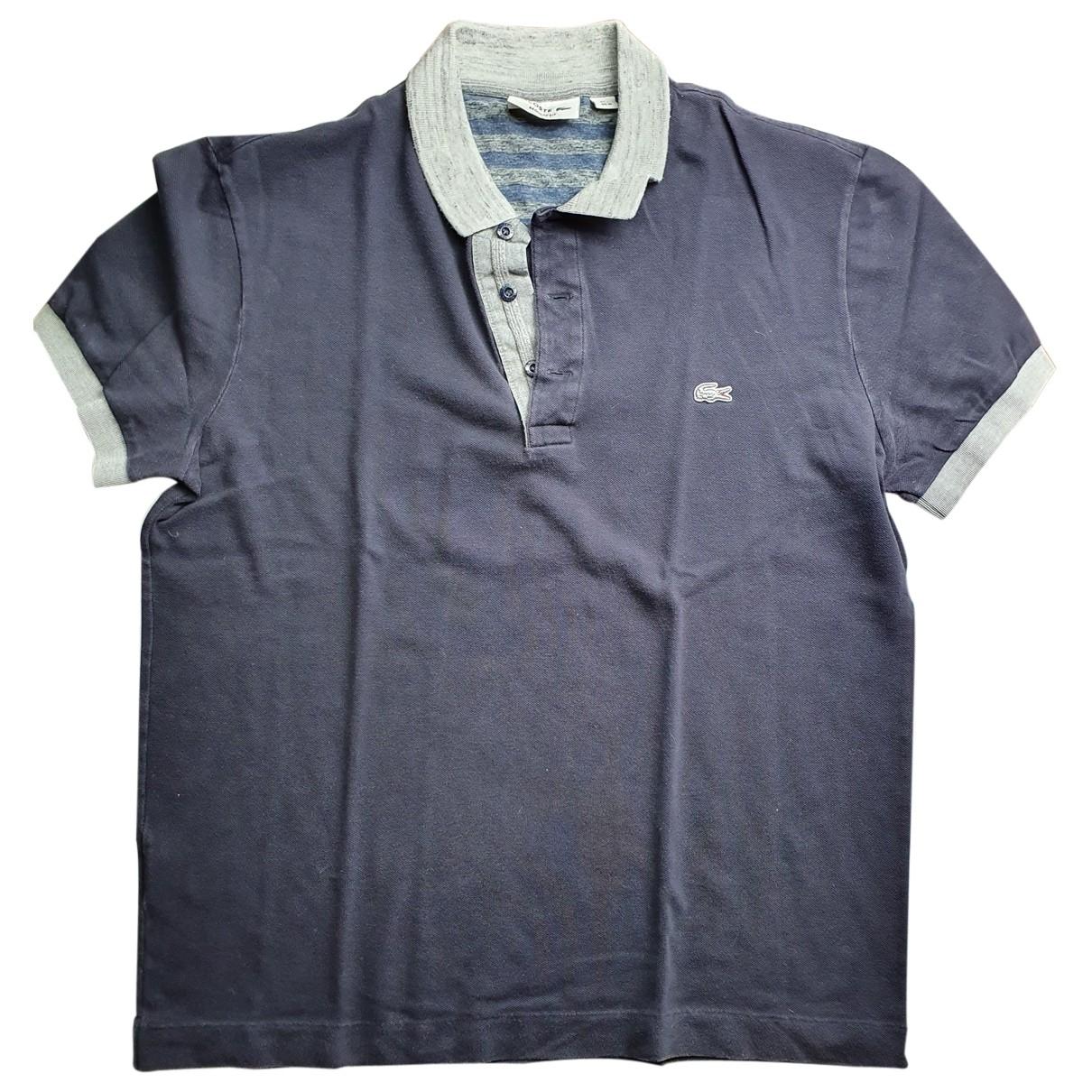 Lacoste \N Blue Cotton Polo shirts for Men M International