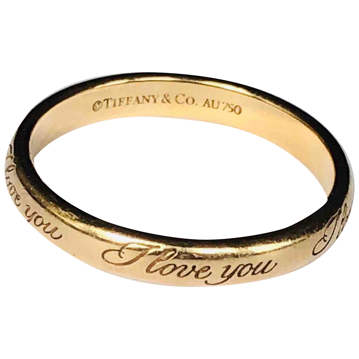Tiffany & Co \N Gold Pink gold ring for Women \N