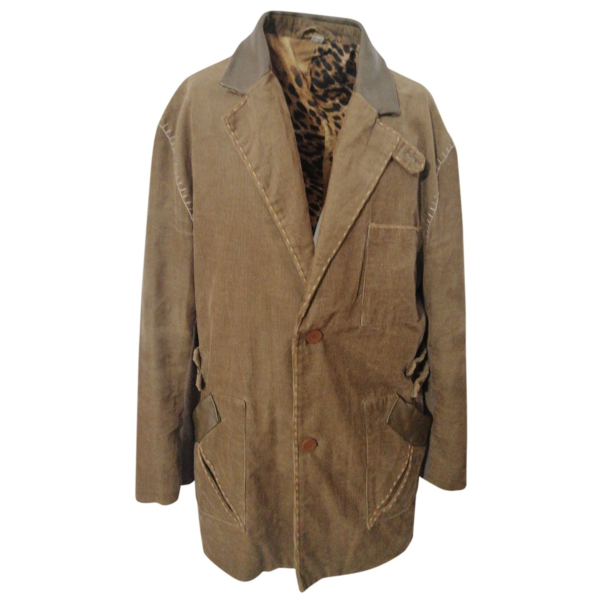 Class Cavalli - Vestes.Blousons   pour homme en coton - vert