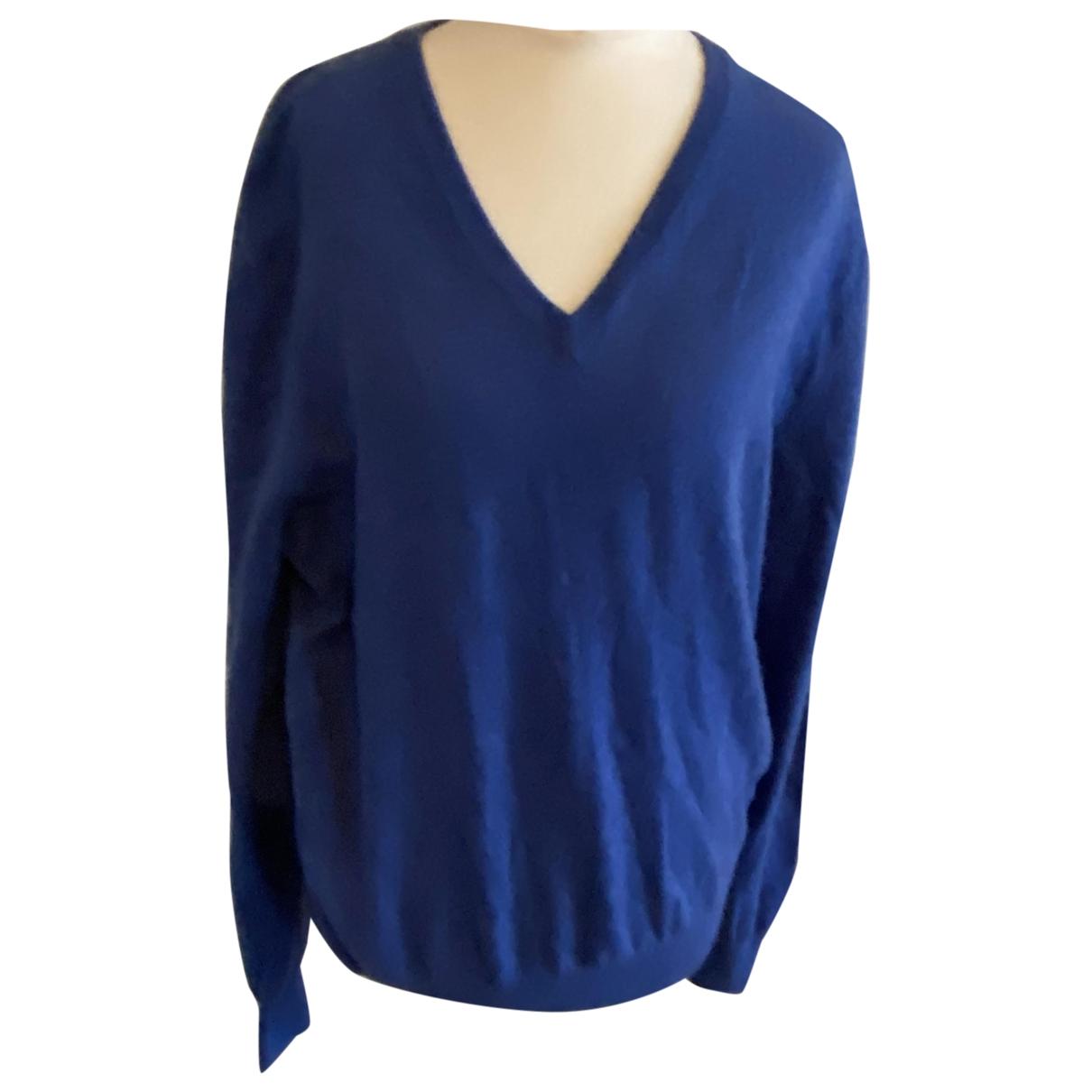 Ermenegildo Zegna \N Pullover.Westen.Sweatshirts  in  Blau Kaschmir