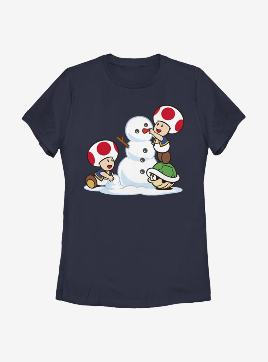 Nintendo Super Mario Frosty Toad Womens T-Shirt