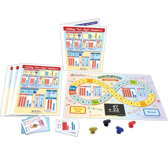 New Path Learning® Adding Two Digit Numbers Learning Center Game | Michaels®