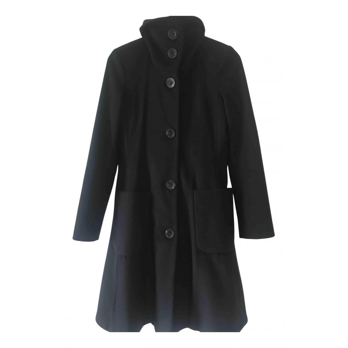 Armani Jean - Manteau   pour femme en laine - noir
