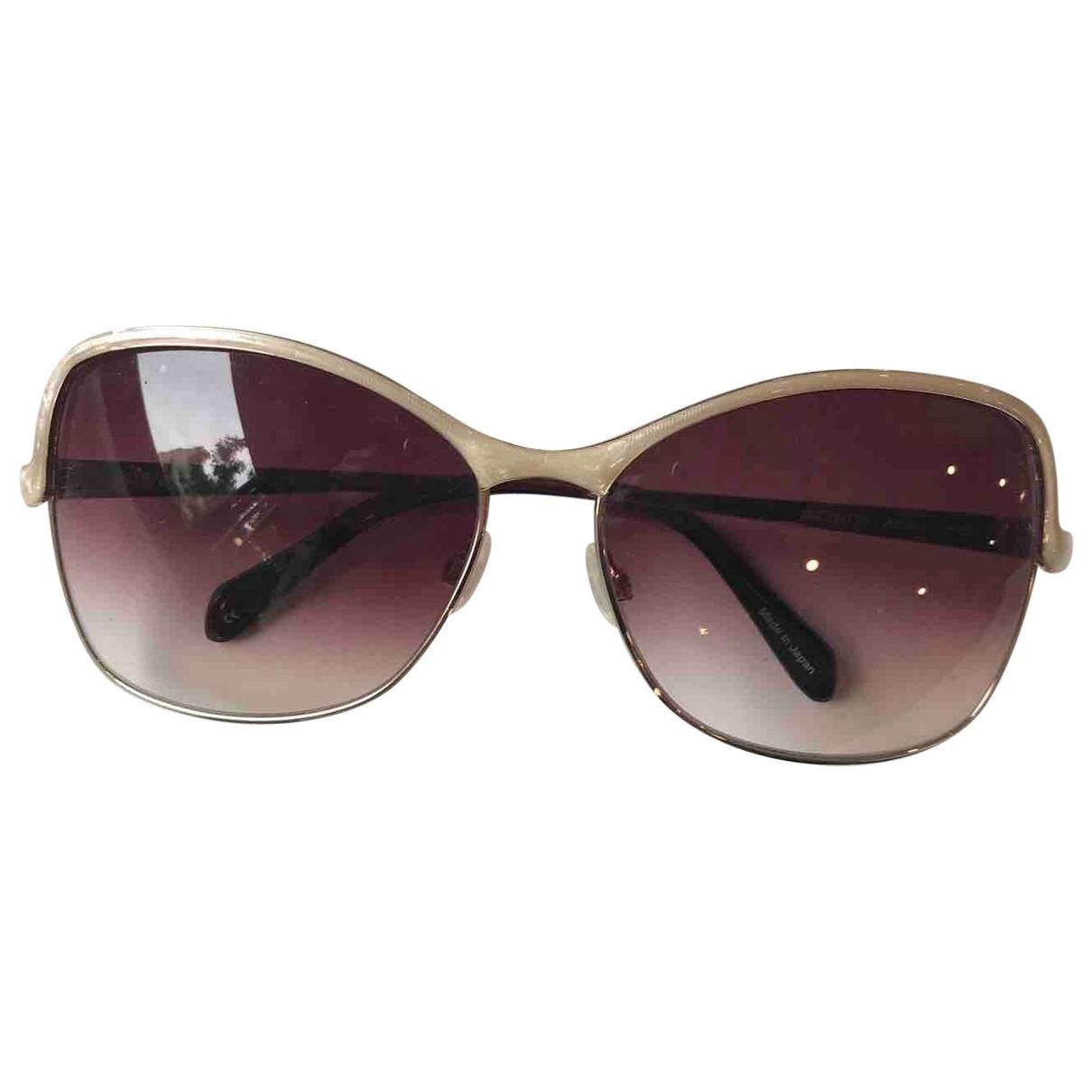 Oliver Peoples \N Gold Metal Sunglasses for Women \N