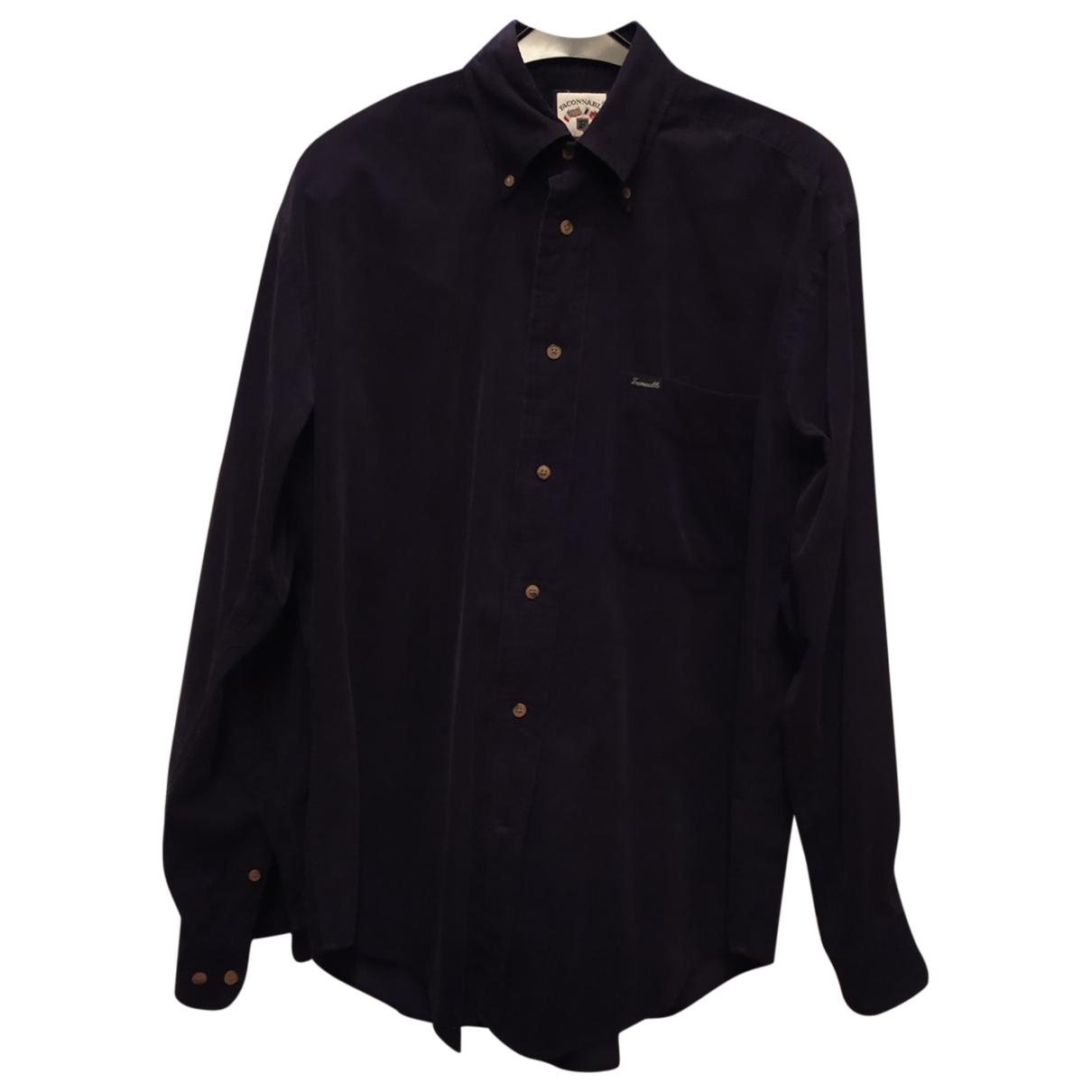 Camisas de Terciopelo Faconnable