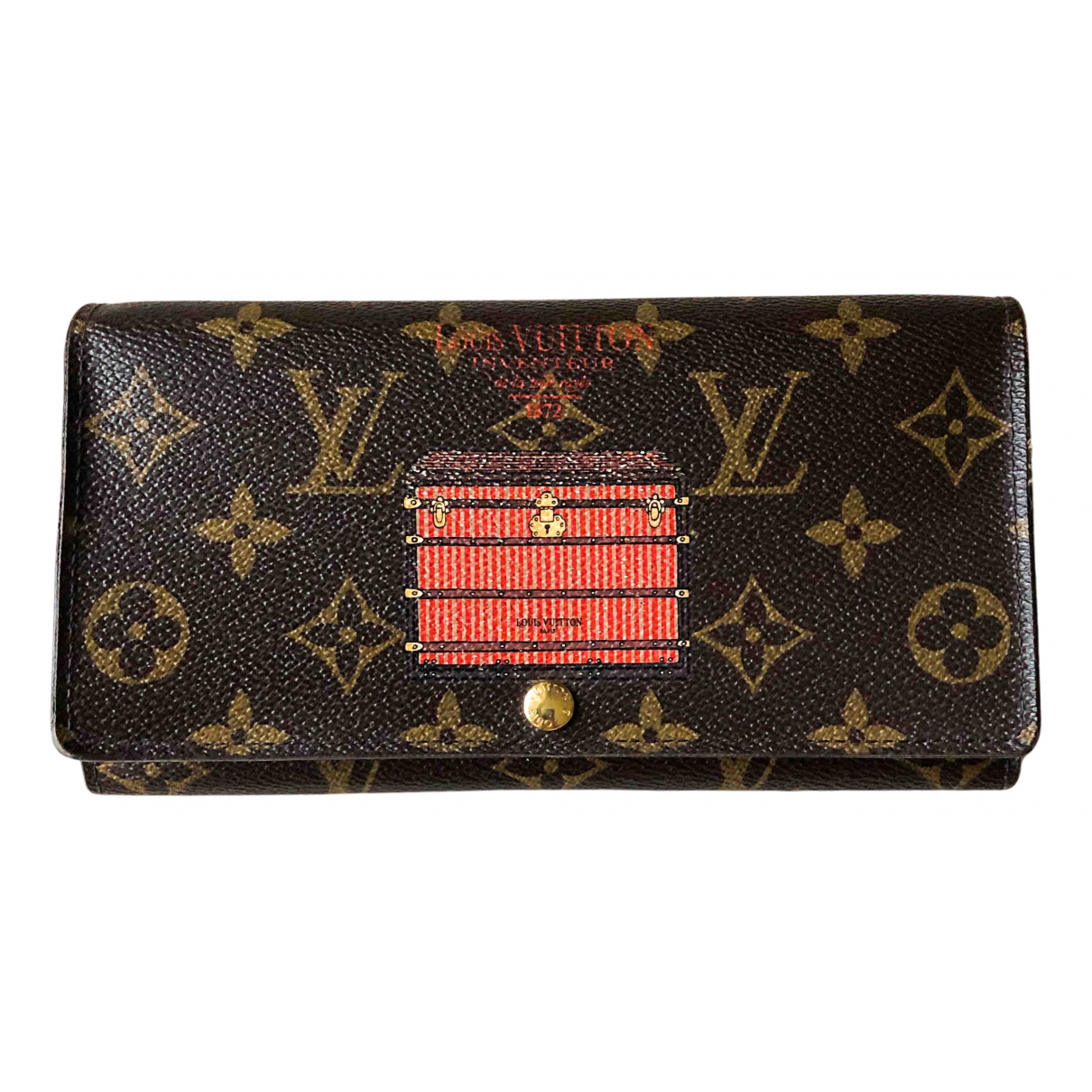 Cartera Sarah de Lona Louis Vuitton