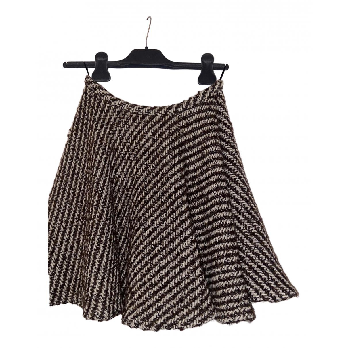 Kenzo N Brown Wool skirt for Women 36 FR