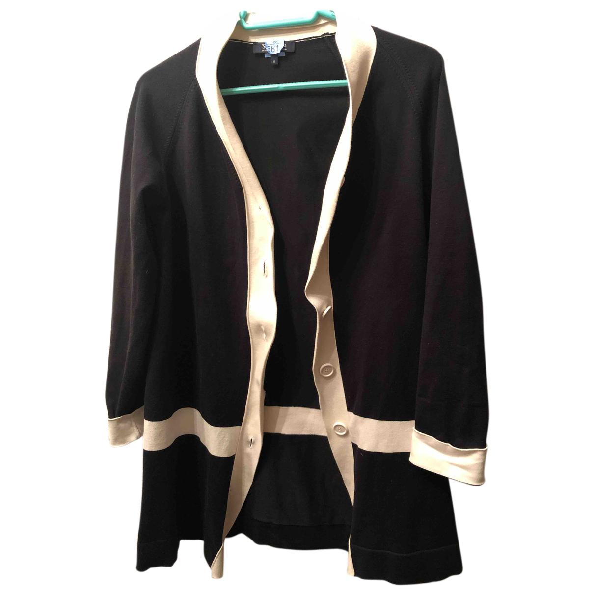 Max Mara - Veste   pour femme en coton - noir