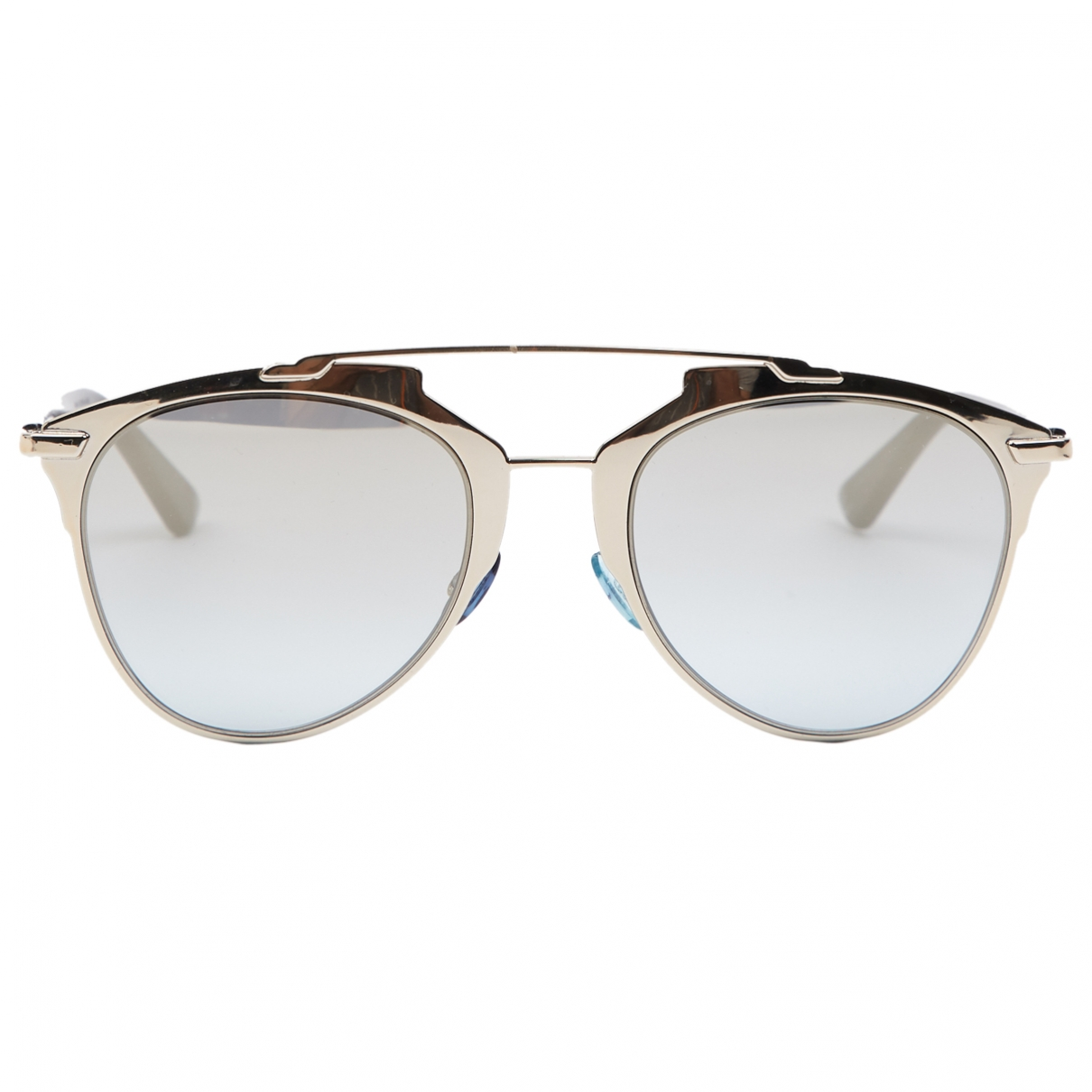 Dior Reflected Silver Metal Sunglasses for Women \N