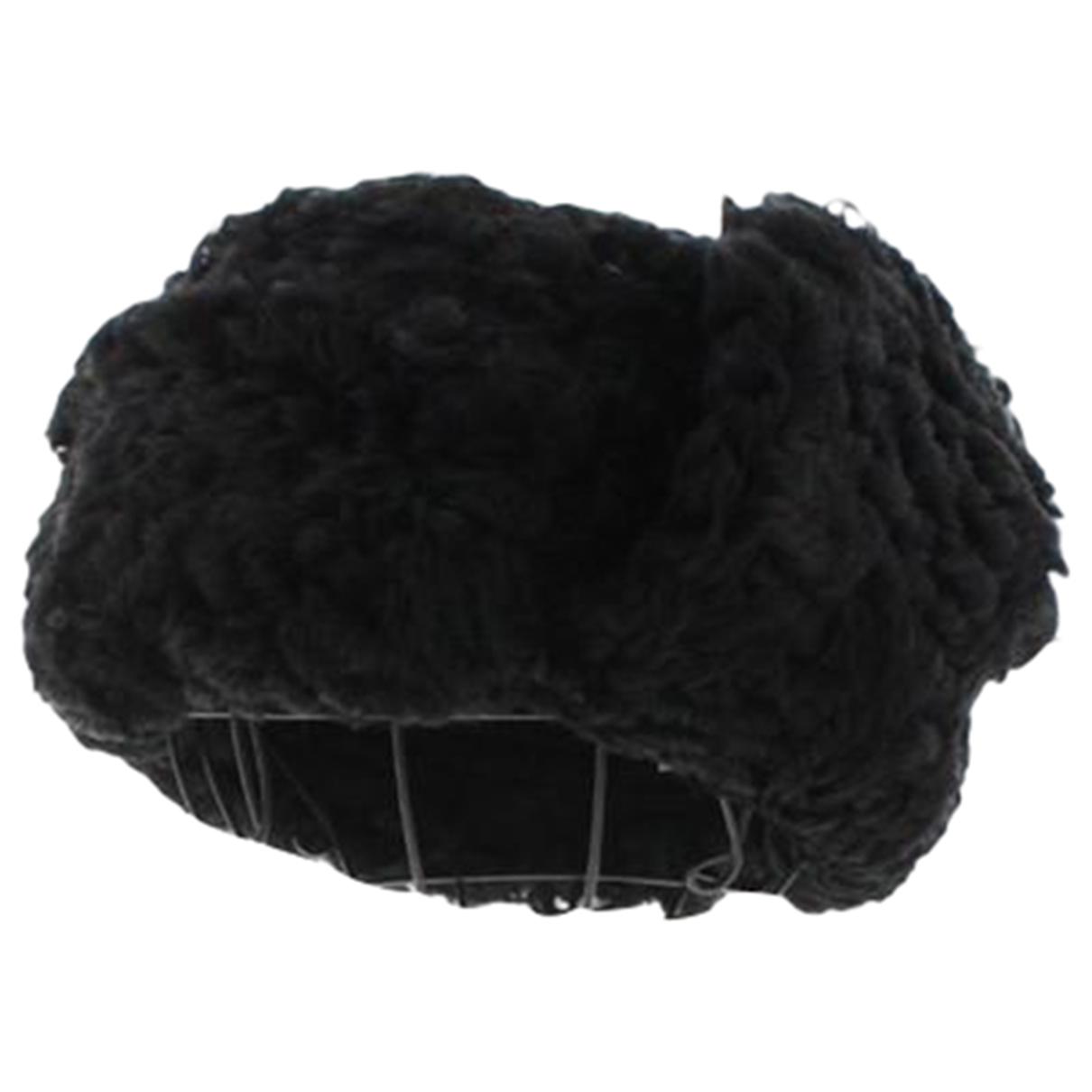 Acne Studios \N Black Wool hat for Women 56 cm