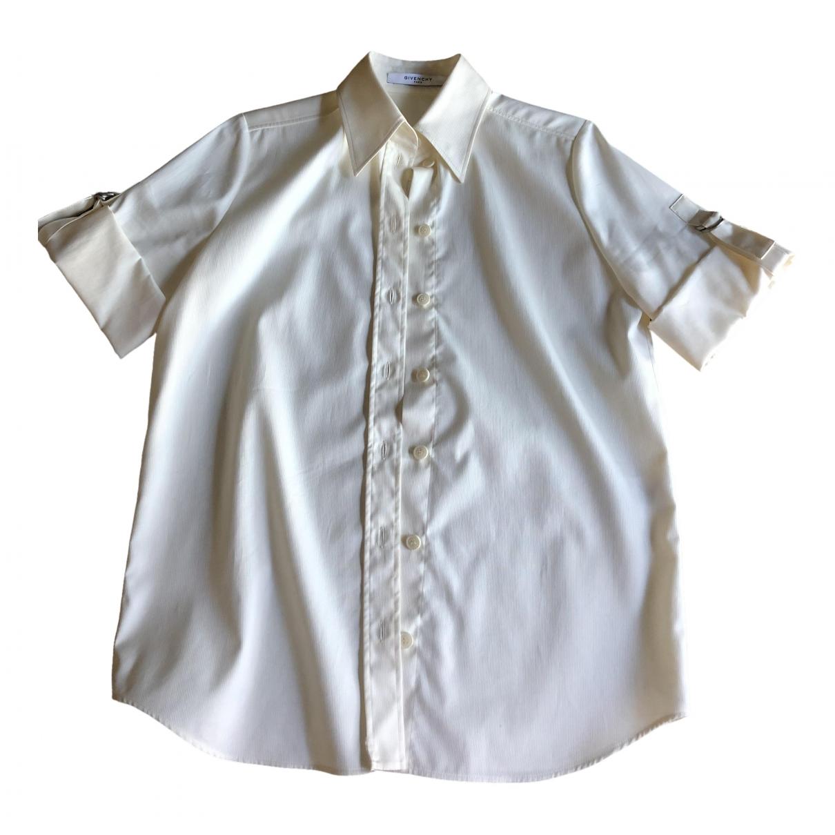 Givenchy - Top   pour femme en coton - ecru