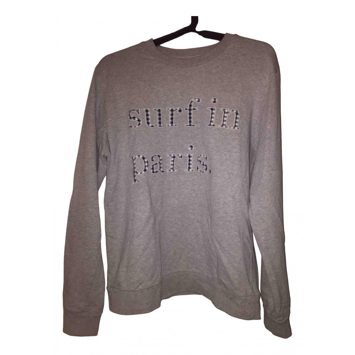 Cuisse De Grenouille \N Pullover.Westen.Sweatshirts  in  Grau Baumwolle