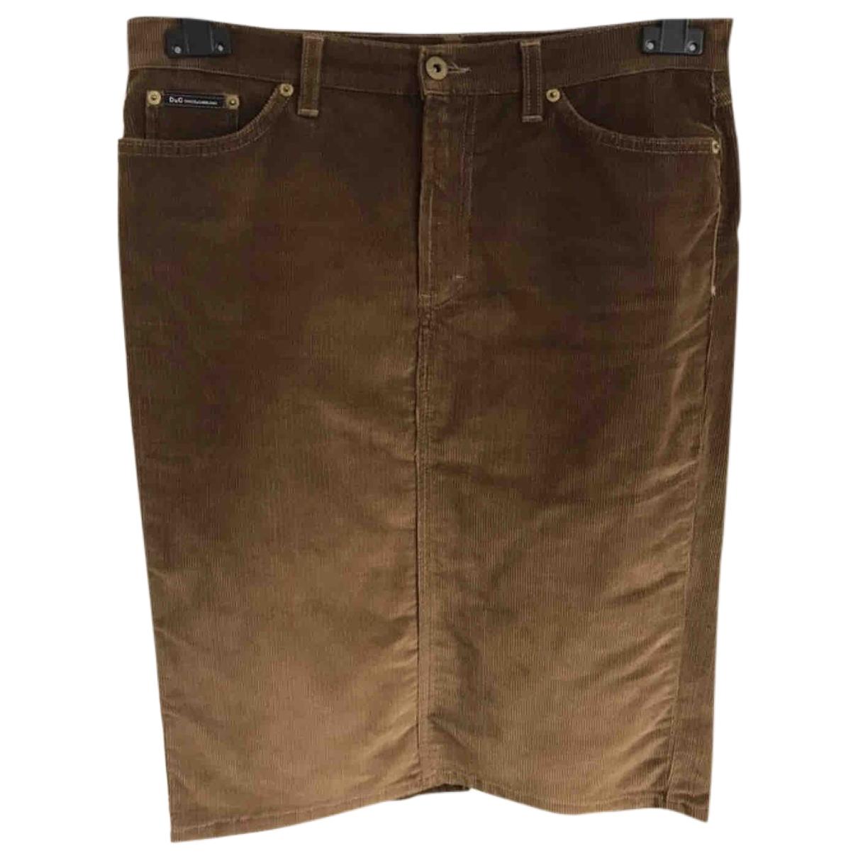 D&g \N Cotton - elasthane skirt for Women 44 IT