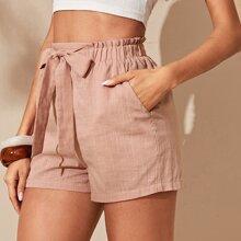 Pink Taschen  Einfarbig Laessig Shorts