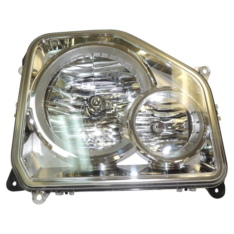 Crown Automotive 55157339AE Jeep Replacement Left Headlight Assembly for Jeep KK Liberty w/ Fog Lamps. Includes Bulbs. Jeep Liberty Left 2008-2012