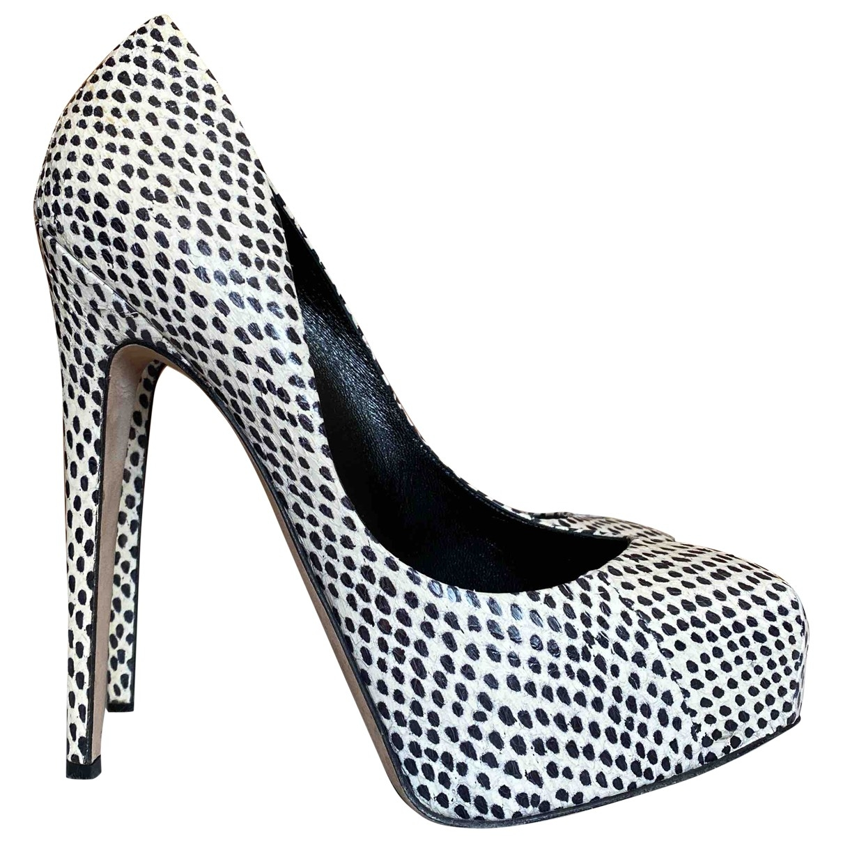 Brian Atwood \N Pumps in  Bunt Echse