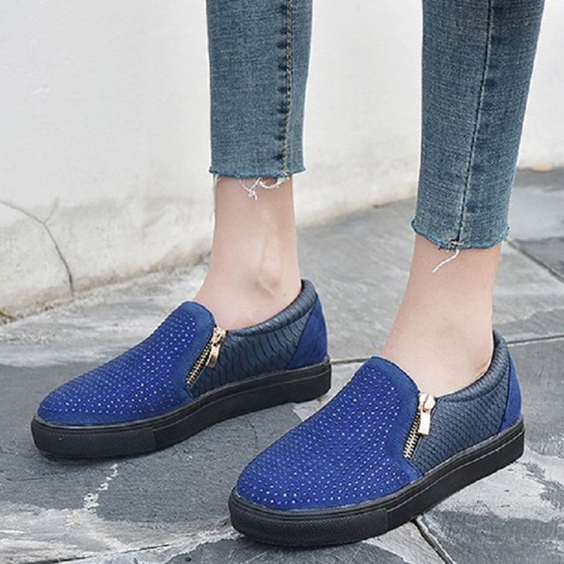 Ericdress Round Toe Flat With Sequin Low-Cut Upper Thin Shoes