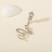 Serpentine Belly Ring