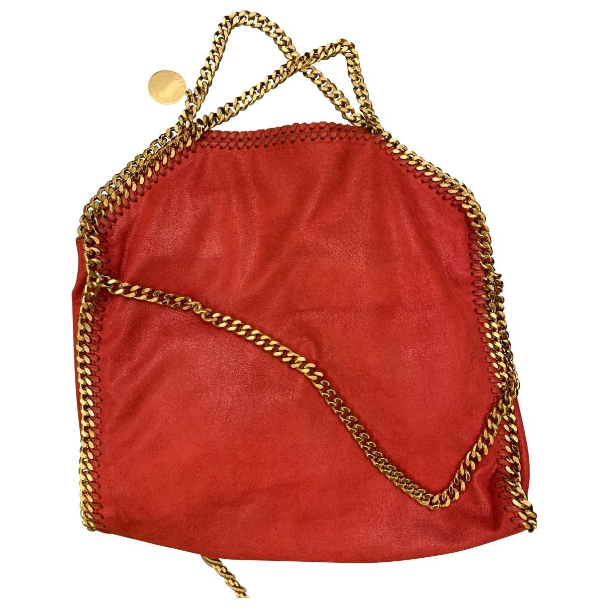Stella Mccartney - Sac a main Falabella pour femme en toile - rouge