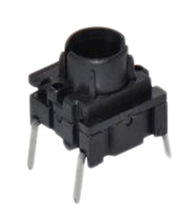 MEC IP67 White Side Cap Tactile Switch, Single Pole Single Throw (SPST) 50 mA 6.5 (Dia.)mm PCB