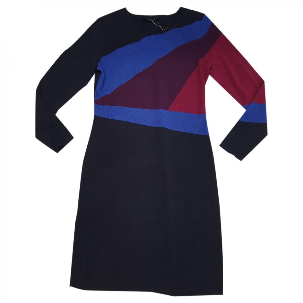 Elena Miro \N Kleid in  Schwarz Wolle