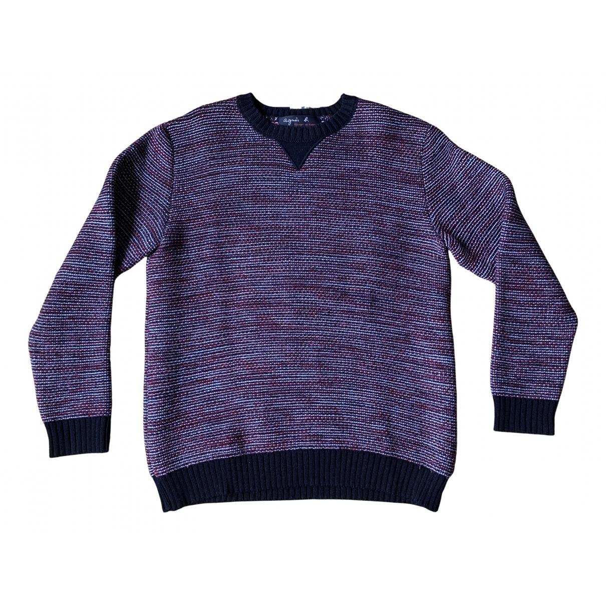 Agnes B. \N Pullover.Westen.Sweatshirts  in  Bordeauxrot Wolle
