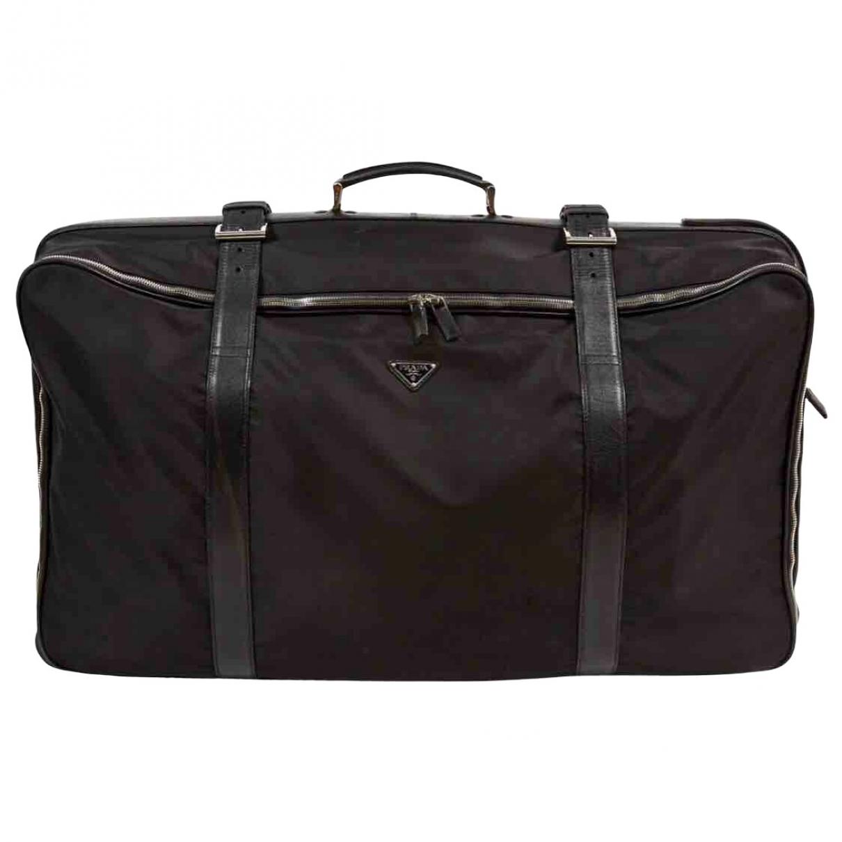 Prada \N Black bag for Men \N