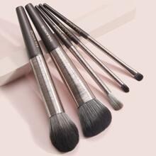 5 piezas set de cepillo de maquillaje