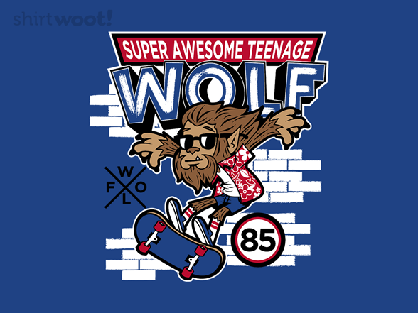 Teeny Wolf T Shirt