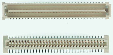 Molex , PMC Mezzanine, 71439 1mm Pitch 64 Way 2 Row Straight PCB Socket, Surface Mount, Solder Termination