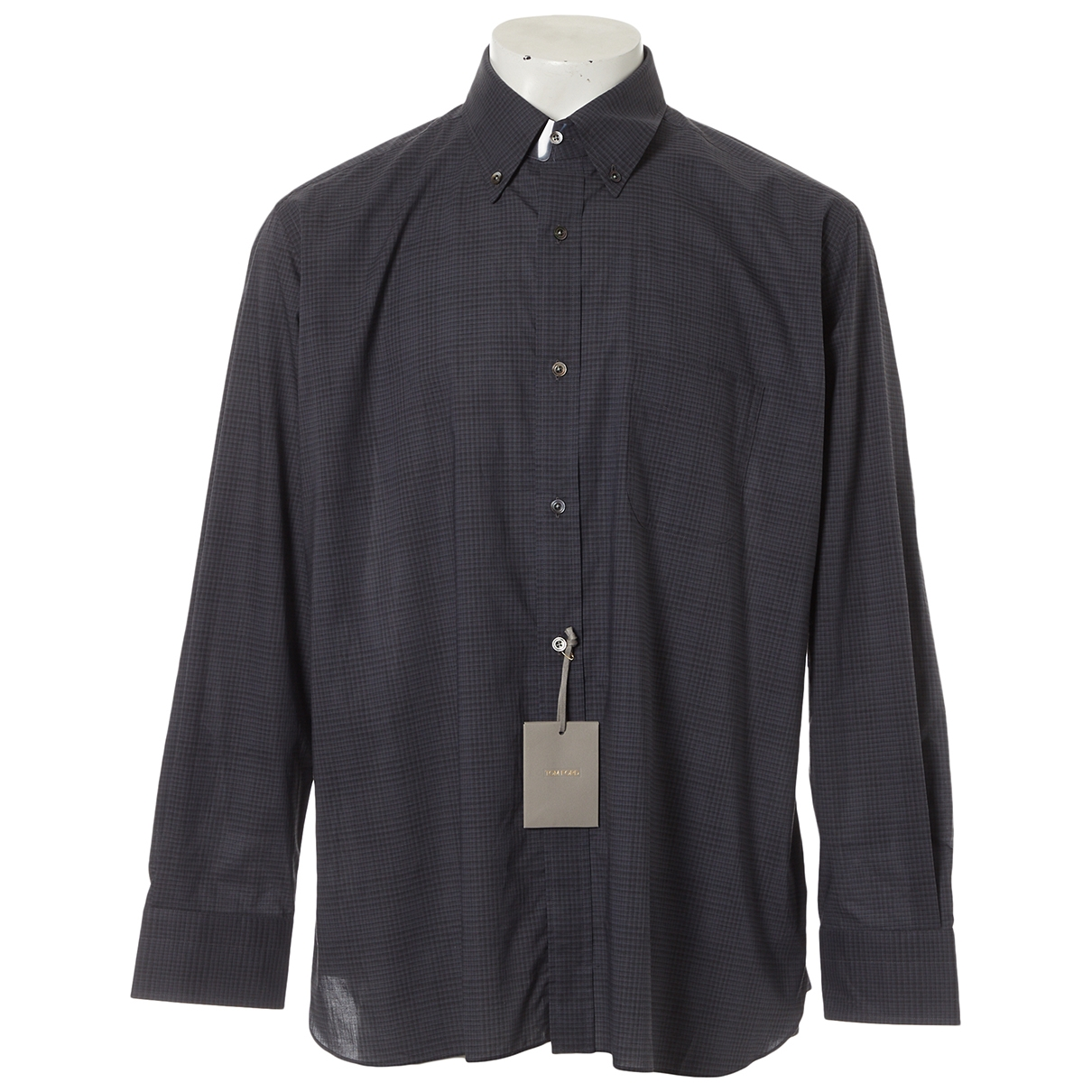 Tom Ford - Chemises   pour homme en coton - gris