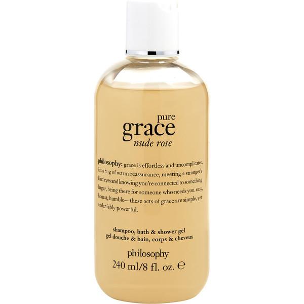 Pure Grace Nude Rose - Philosophy Gel de ducha cuerpo y cabello 236 ml