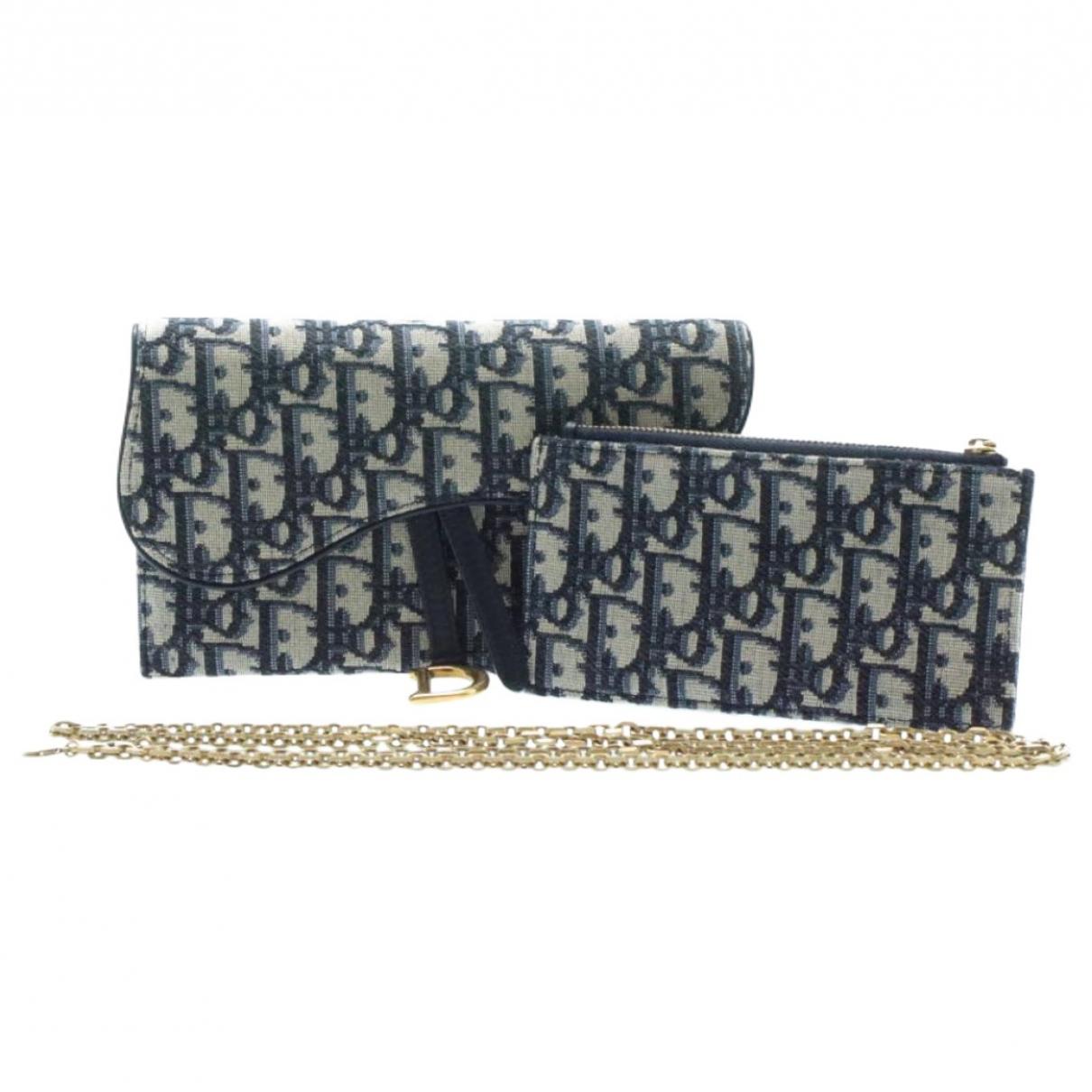 Christian Dior - Foulard   pour femme en coton - marine