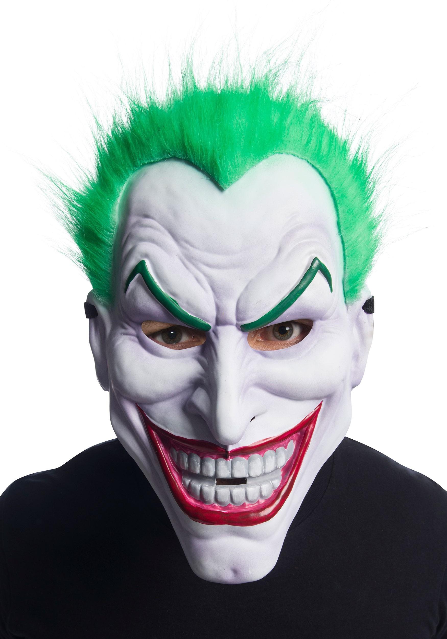 D.C. Joker Clown Mask