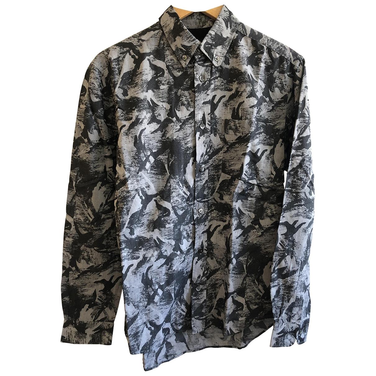Mcq \N Hemden in  Grau Baumwolle