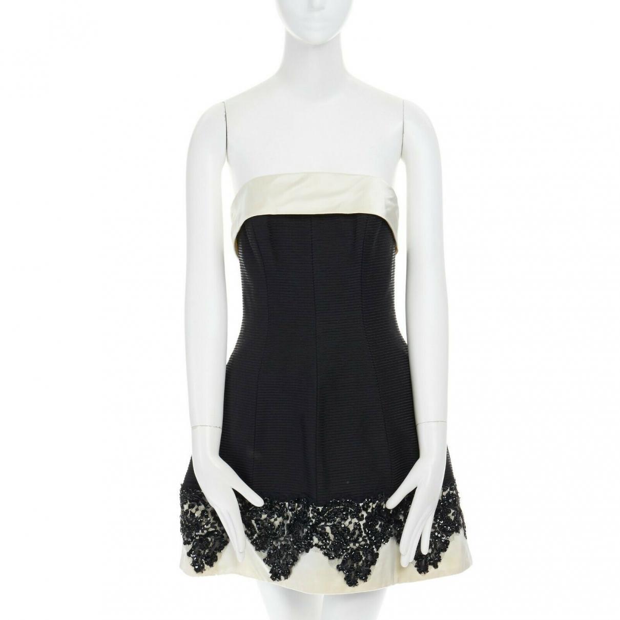 Jenny Packham - Robe   pour femme en soie - noir