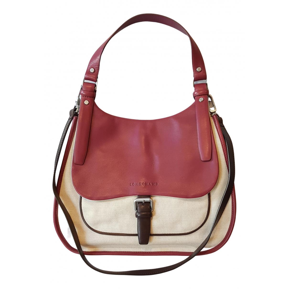 Longchamp Balzane Beige Cloth handbag for Women N