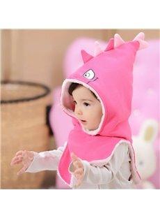 Cartoon Pattern Winter Warm Fleece Hat for Child