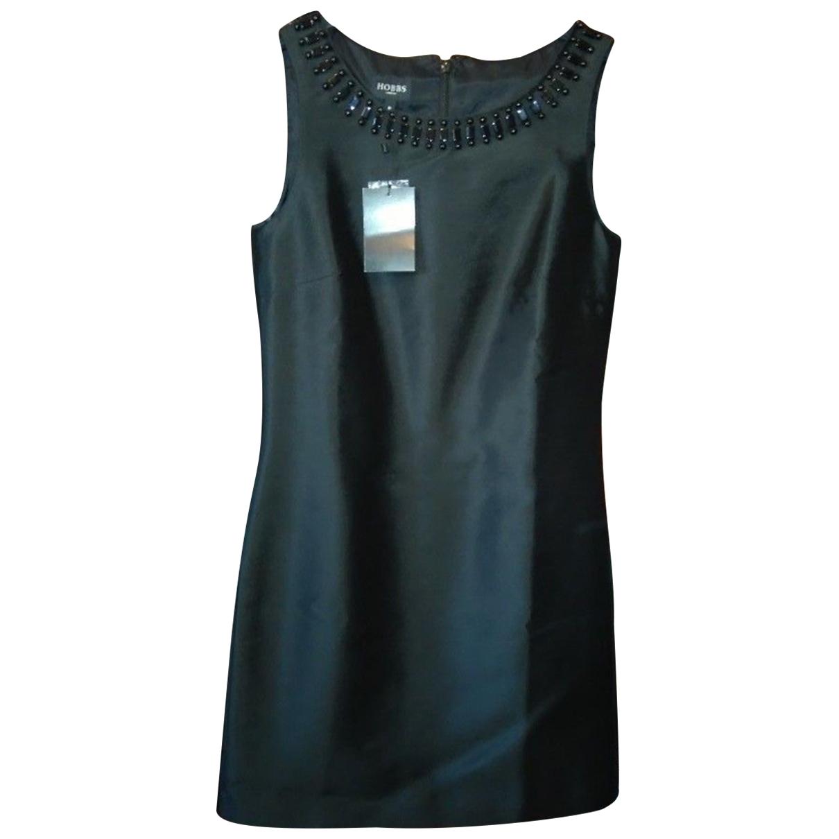 Hobbs - Robe   pour femme en soie - noir