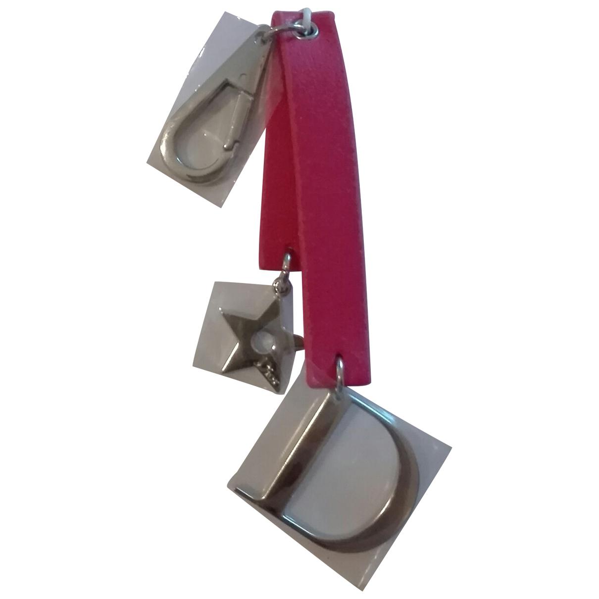 Dior - Bijoux de sac   pour femme en metal - rose