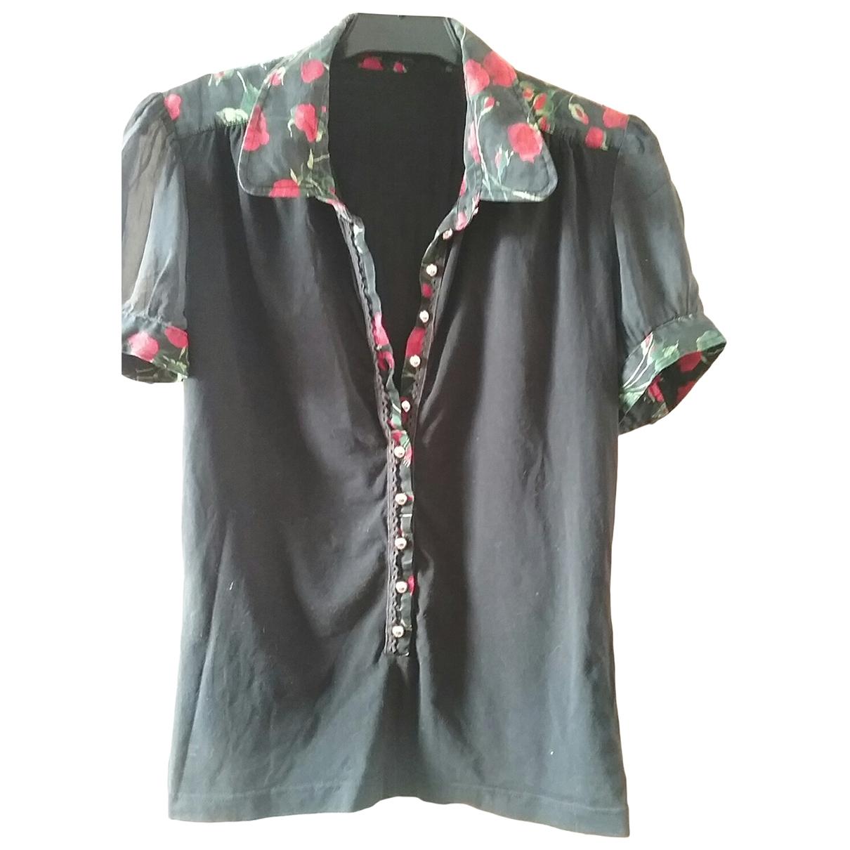 D&g \N Black Silk  top for Women 44 IT