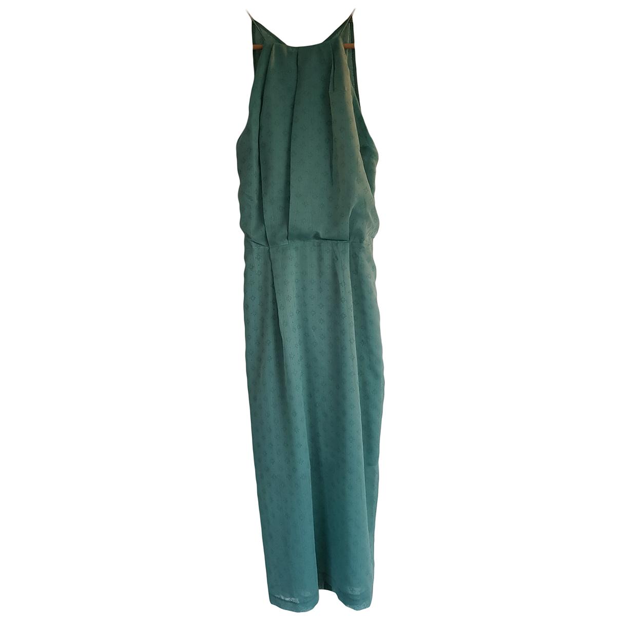 Samsoe & Samsoe \N Kleid in  Gruen Polyester