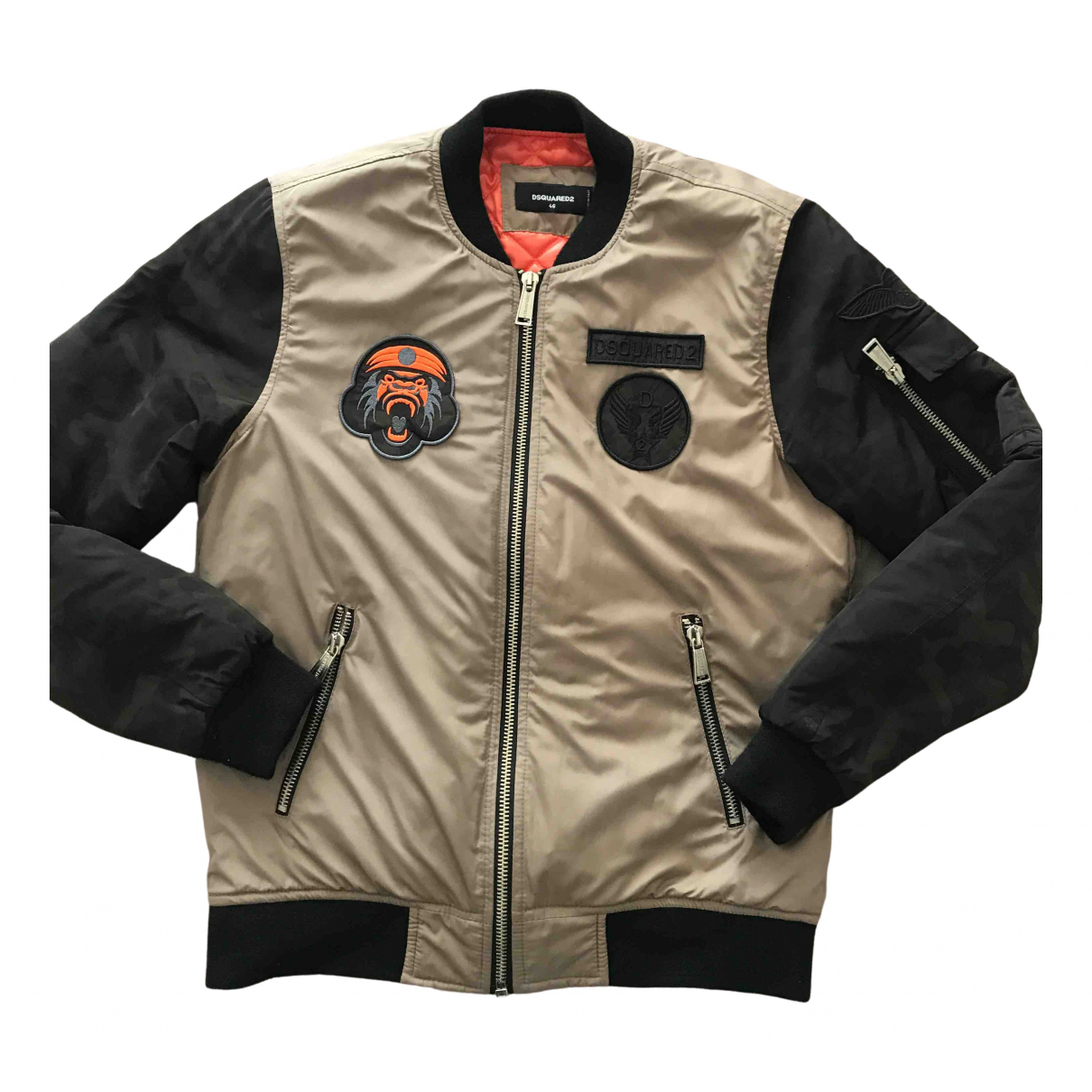 Dsquared2 \N Jacke in  Beige Polyester