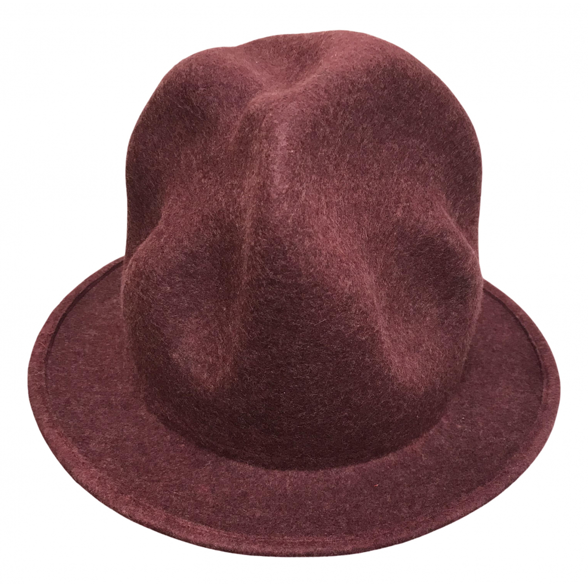 Vivienne Westwood - Chapeau & Bonnets   pour homme en laine - bordeaux