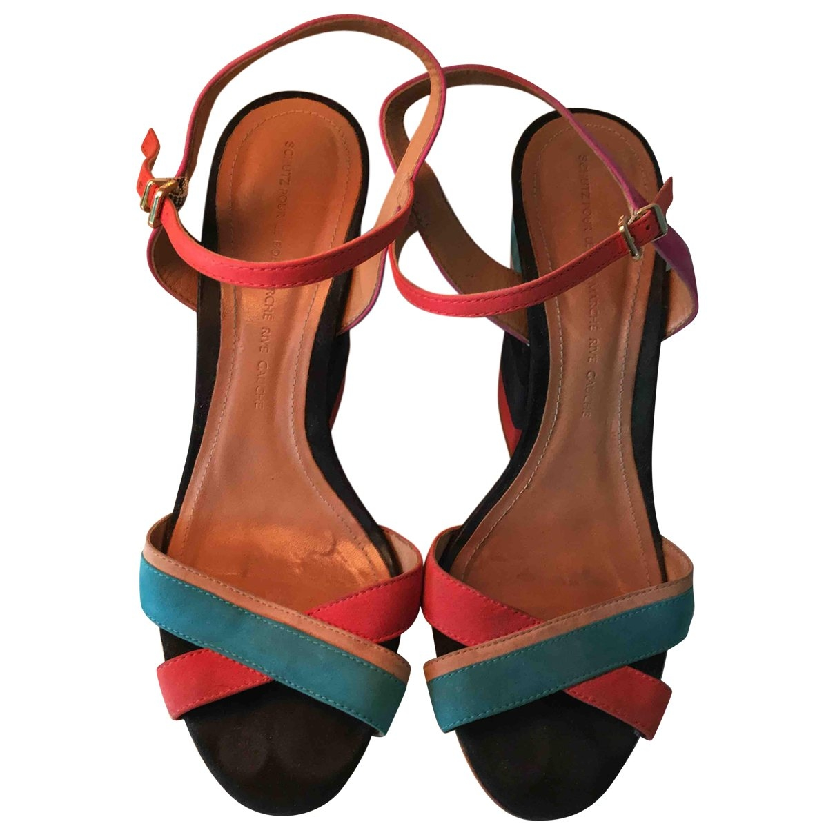 Schutz \N Multicolour Leather Sandals for Women 40 EU