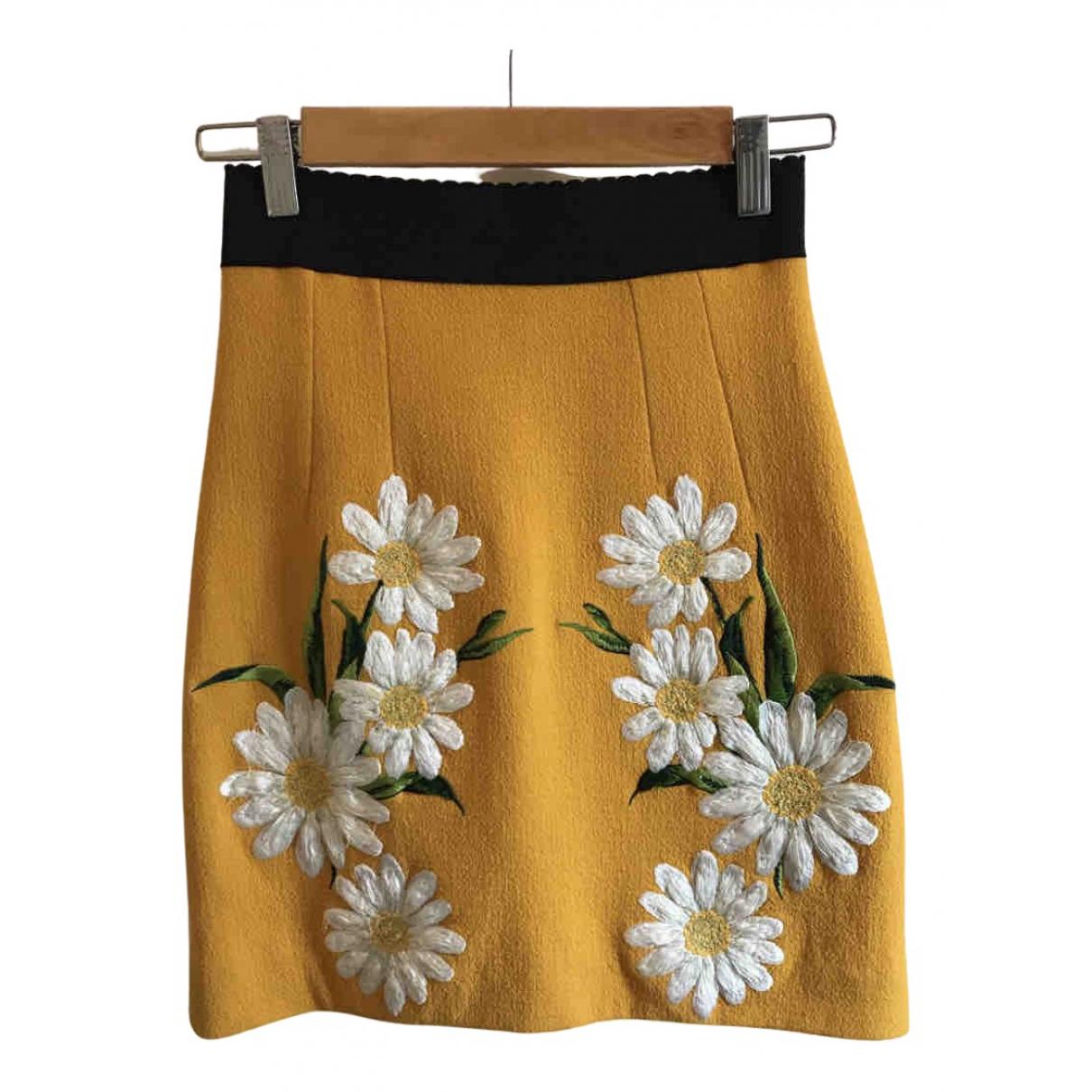 Dolce & Gabbana \N Rocke in  Gelb Wolle