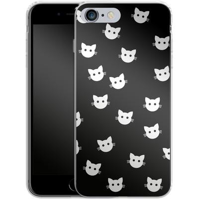 Apple iPhone 6s Plus Silikon Handyhuelle - Cat Pattern von caseable Designs