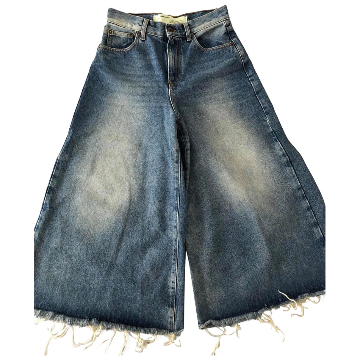 Off-white N Blue Denim - Jeans Jeans for Women 28 US