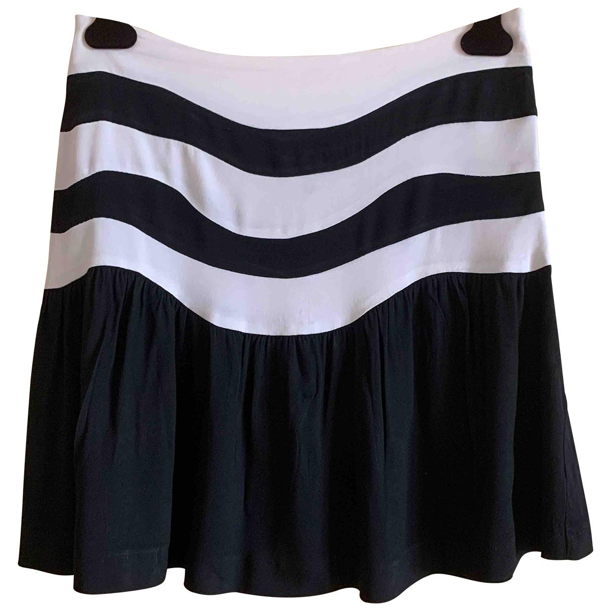 Emporio Armani - Jupe   pour femme en soie - noir